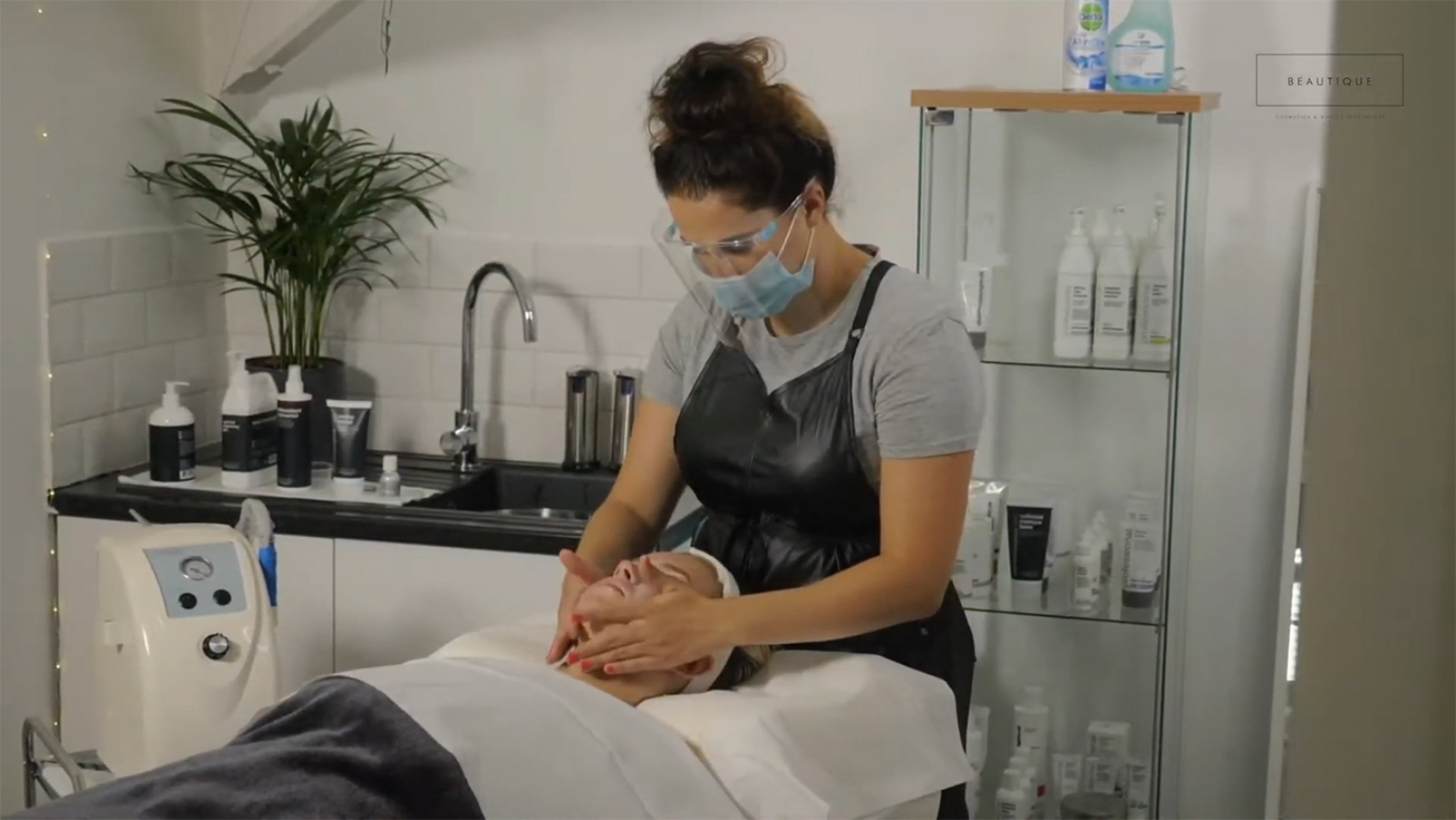 Beautique Beauty Salon Newquay Cornwall Video